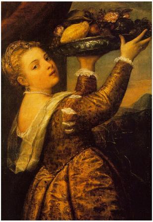 Titian Salome Art Print Poster