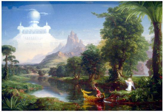 978701082e Thomas Cole The Voyage of Life Youth Art Print Poster Prints at  AllPosters.com