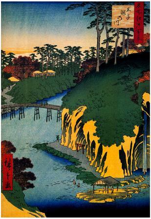 Utagawa Hiroshige Takinogawa