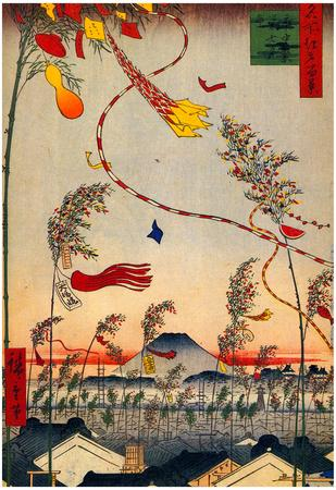 Utagawa Hiroshige Tanabata Festival