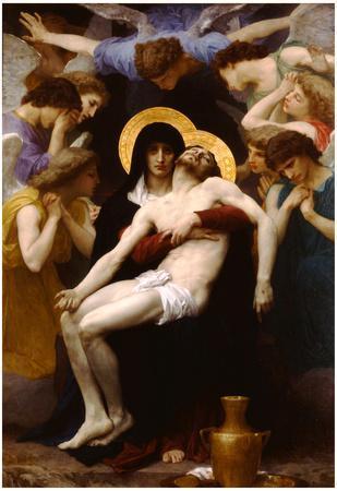 William-Adolphe Bouguereau Pieta Art Print Poster
