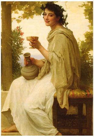 William-Adolphe Bouguereau Bacchante Art Print Poster
