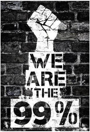 We are the 99 Percent Poster