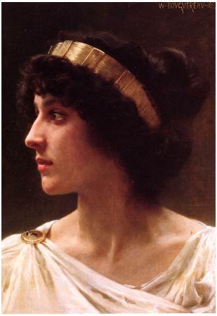 William-Adolphe Bouguereau Irene Art Print Poster