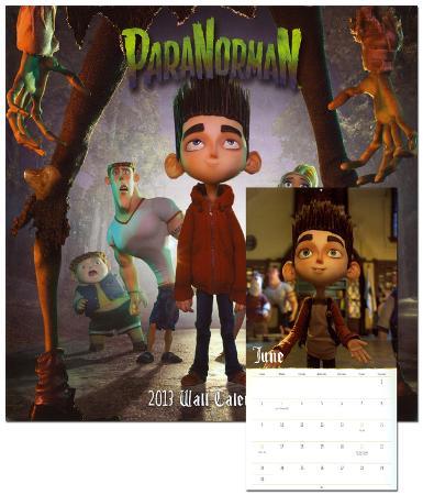 ParaNorman - 2013 Calendar