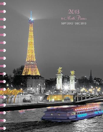 Paris Glitz - 2013 Poly Agenda Calendars