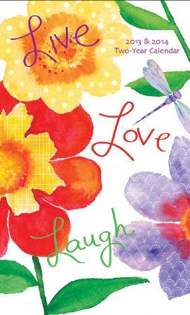 Live Love Laugh - 2013 2 Year Planner