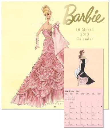 Barbie - 2013 Wall Calendars