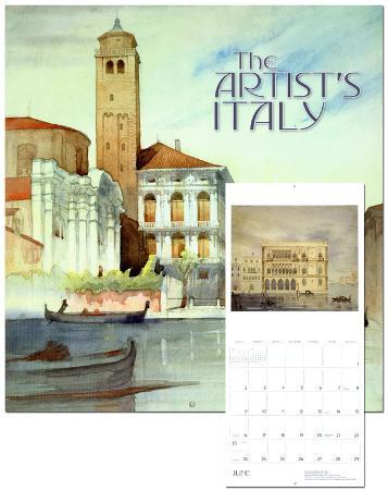 The Artist's Italy - 2013 Wall Calendar