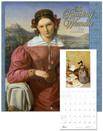 The Reading Woman - 2013 Wall Calendar