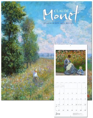 Claude Monet - 2013 Wall Calendar