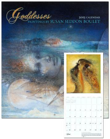 Goddesses: Paintings by Susan Seddon Boulet - 2013 Wall Calendar