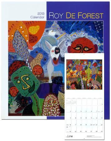 Roy De Forest - 2013 Wall Calendar