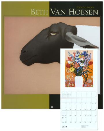 Beth Van Hoesen - 2013 Wall Calendar