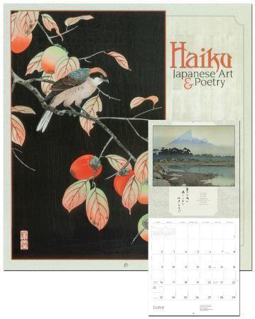 Haiku: Japanese Art & Poetry - 2013 Wall Calendar