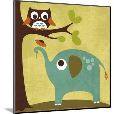 Owl and Elephant