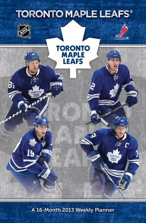 Toronto Maple Leafs - 2013 Weekly Planner Calendar