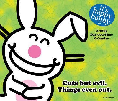 It's Happy Bunny - 2013 Box Calendar Calendar