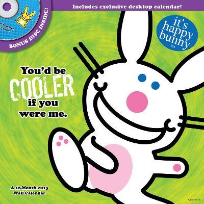 It's Happy Bunny - 2013 DVD Calendar