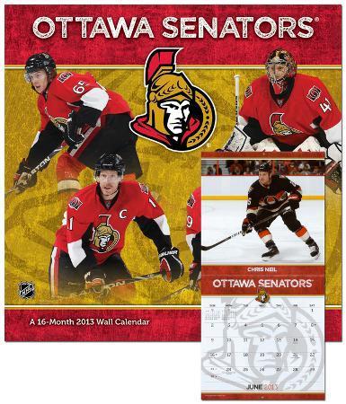 Ottawa Senators  - 2013 Calendar