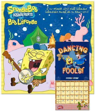 SpongeBob SquarePants  - 2013 Calendar
