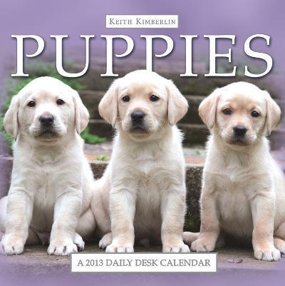 Keith Kimberlin Puppies - 2013 Daily Desk Calendar Calendar