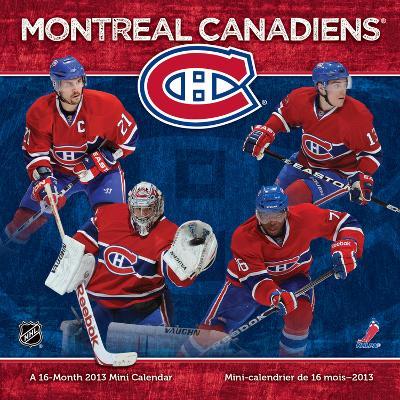 Montreal Canadiens - 2013 Mini Calendar