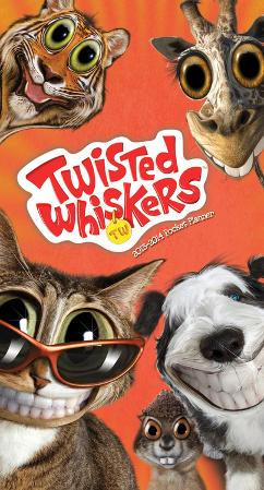 Twisted Whiskers - 2013 Pocket Planner Calendar