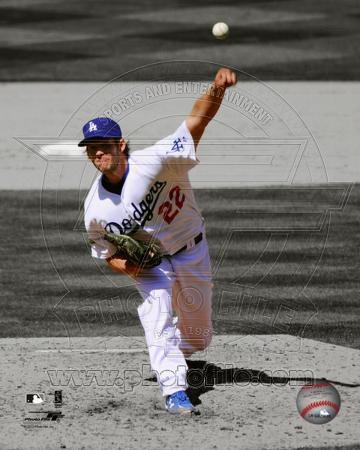 MLB Clayton Kershaw 2012 Spotlight Action