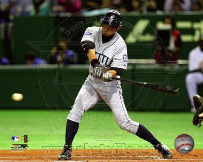 Ichiro Suzuki 2012 Action