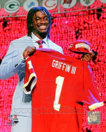 Robert Griffin III (RG3) 2012 NFL Draft #2 Draft Pick