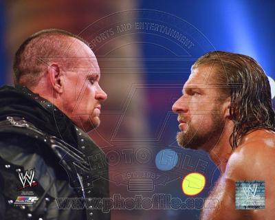 The Undertaker & Triple H WrestleMania XXVIII Action