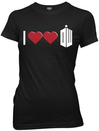 Juniors: Doctor Who - Double Heart Doctor Who