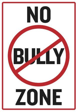 No Bully Zone Classroom Poster