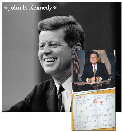 John F. Kennedy - 2013 Wall Calendar
