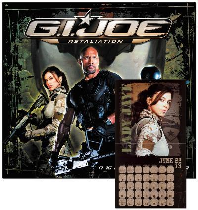 G.I. Joe: Retaliation - 2013 Wall Calendar
