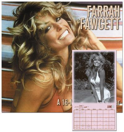 Farrah Fawcett - 2013 Wall Calendar