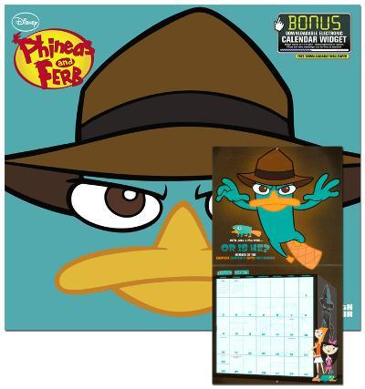 Phineas and Ferb - 2013 Wall Calendar