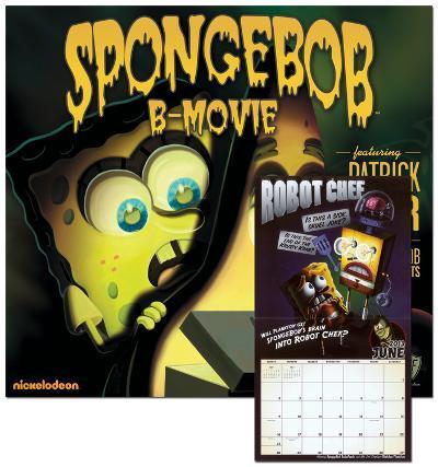 SpongeBob SquarePants - 2013 Wall Calendar