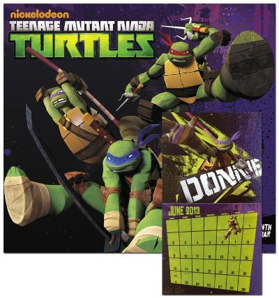 Teenage Mutant Ninja Turtles - 2013 Wall Calendar