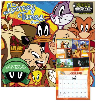 The Looney Tunes Show - 2013 Wall Calendar
