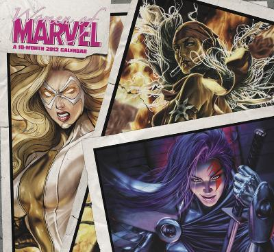 Women of Marvel - 2013 Wall Calendar