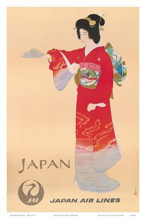 Japan Air Lines, Geisha c.1950's