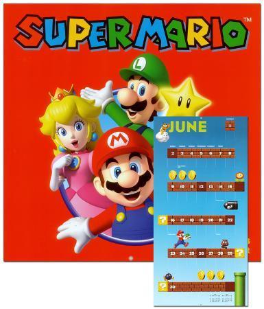 Super Mario Brothers - 2013 Wall Calendar