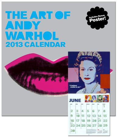 Art of Andy Warhol - 2013 Wall Calendar