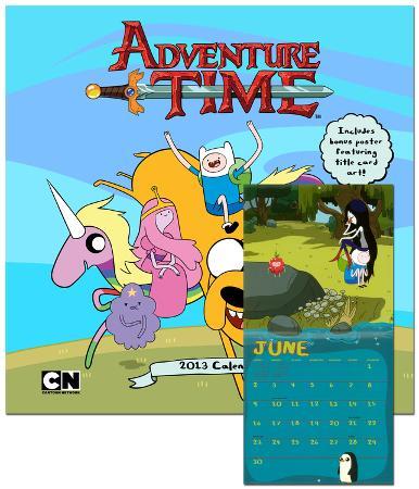 Adventure Time - 2013 Wall Calendar