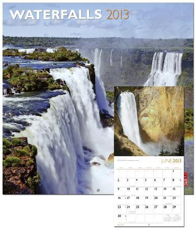 Waterfalls - 2013 Wall Calendar