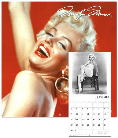 Marilyn Monroe - 2013 Wall Calendar