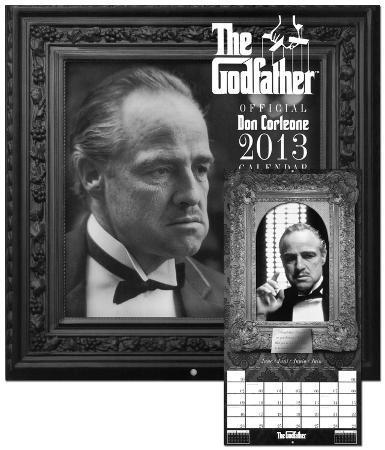 The Godfather - 2013 Wall Calendar