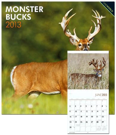 Monster Bucks - 2013 Wall Calendar